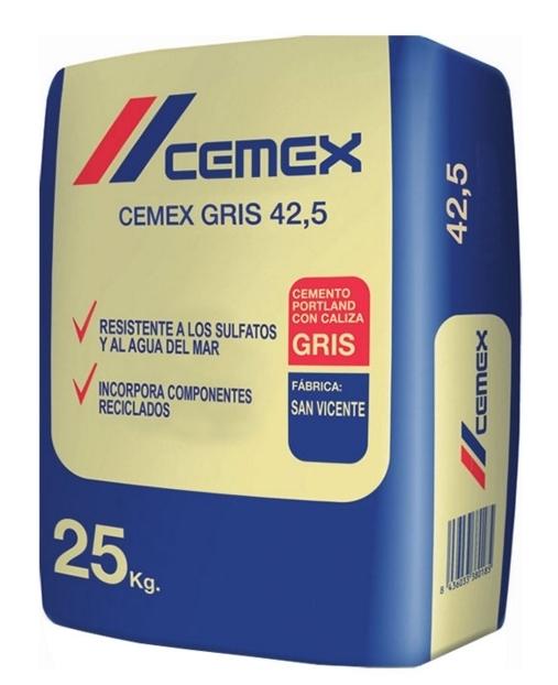 Saco de cemento blanco 42 5 25 kgs sucesores de baltasar - Cemento blanco precio ...