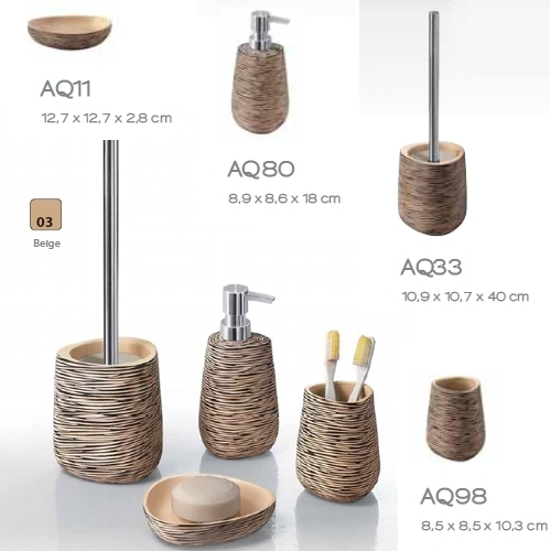 Accesorios de baño sobre encimera serie G-AQUARIUS Table Top