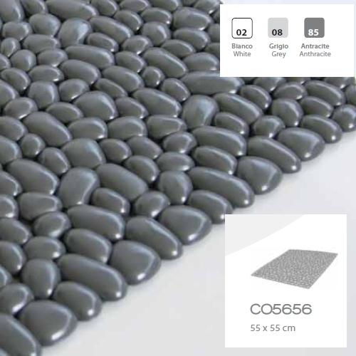 Alfombra antideslizante para plato ducha 55x55 g pietra vinilo sucesores de baltasar sola - Antideslizantes para duchas ...